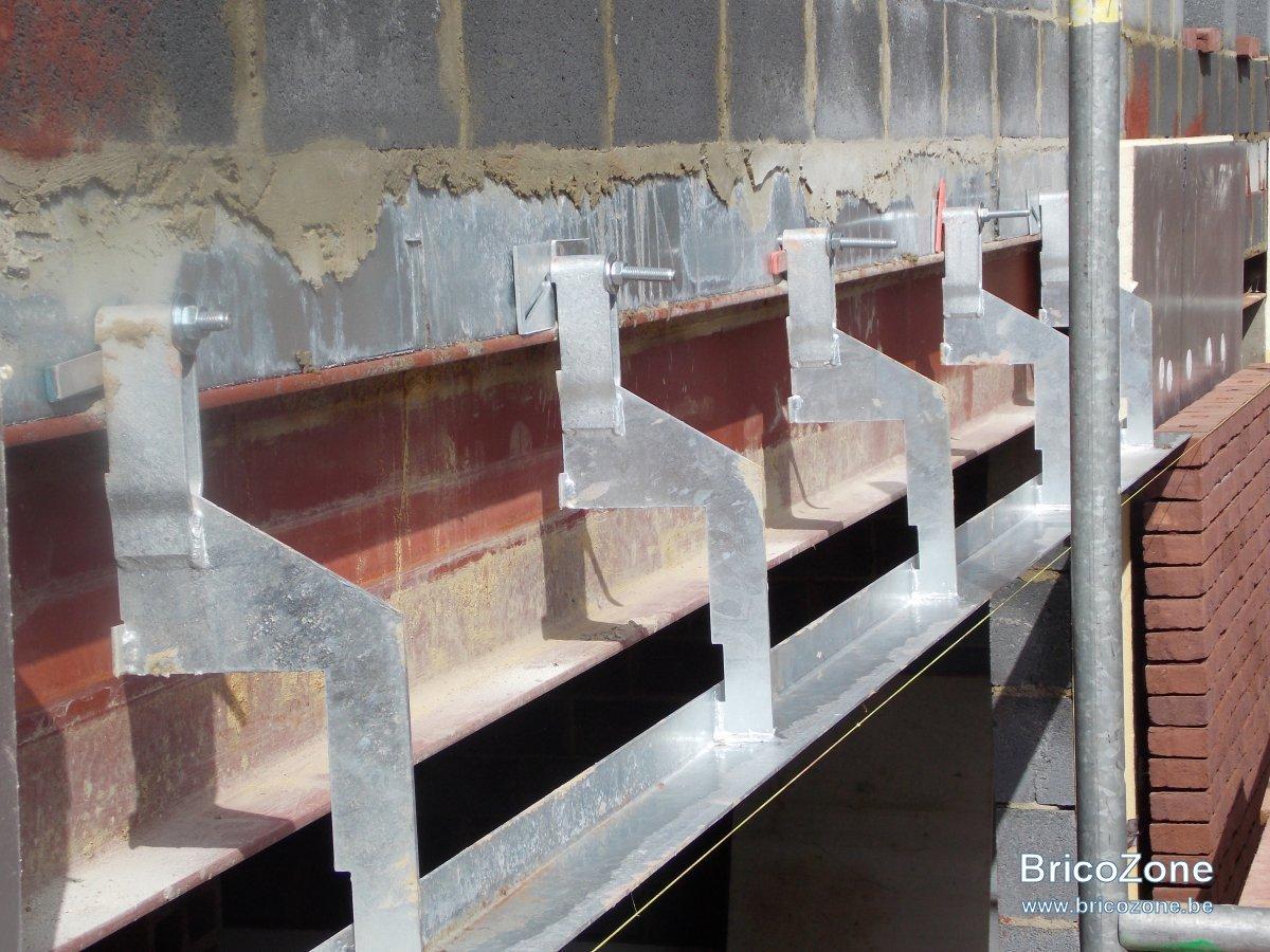 Corni 232 Re Pour Brique Avec Heb Sur Mur Porteur
