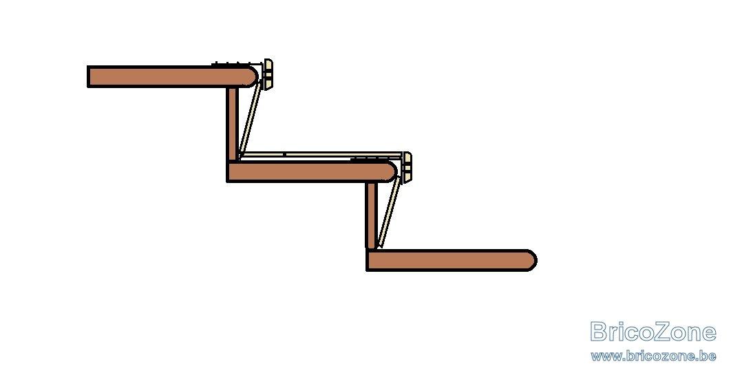 escalier quick step affordable quickstep profile parquet pour escaliers alu decor startifie. Black Bedroom Furniture Sets. Home Design Ideas