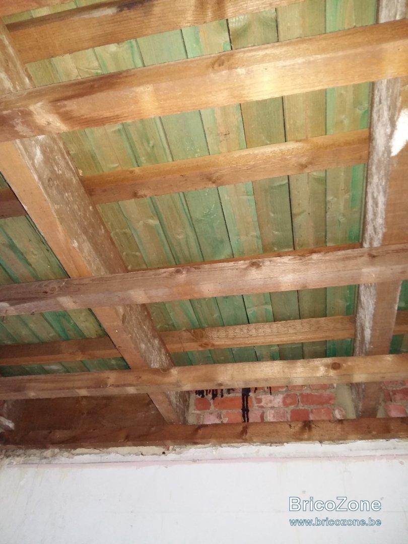 isolation toiture plate de lint233rieur