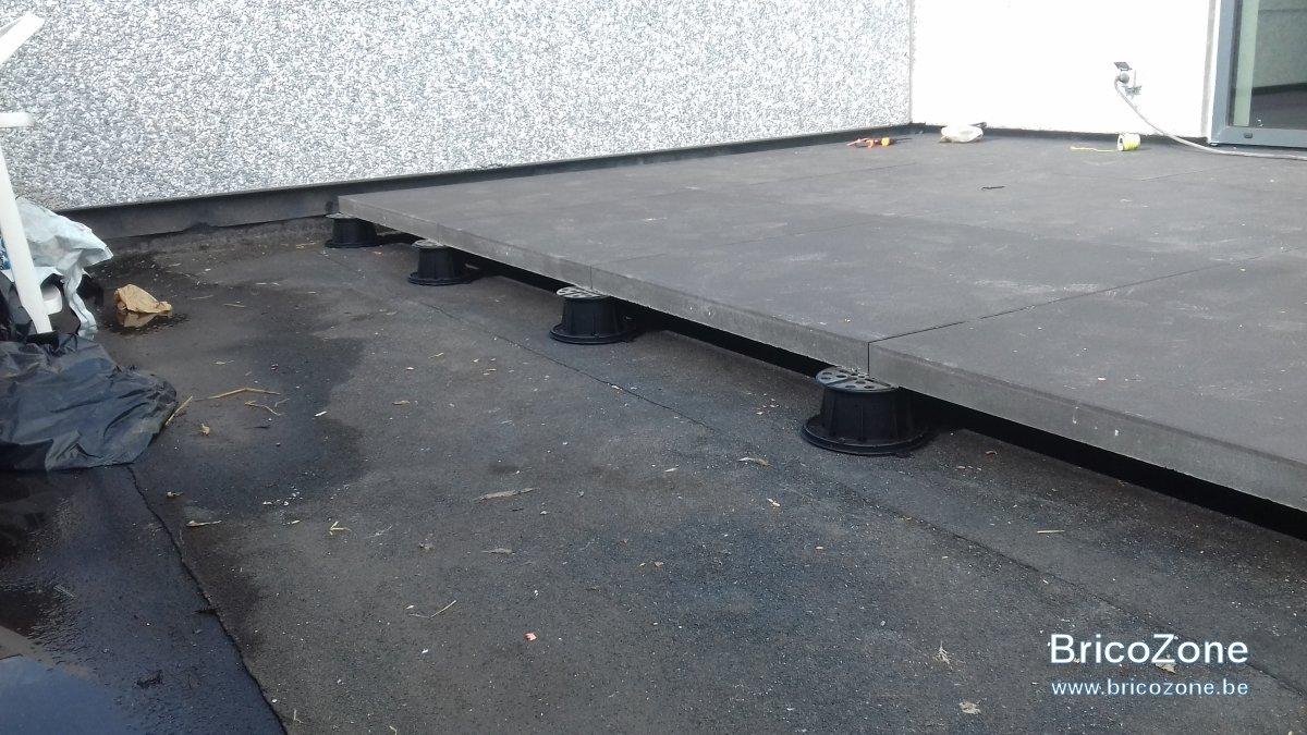 Quelle technique de pose pour carrelages dalles terrasse - Quelle epaisseur pour une dalle de terrasse ...