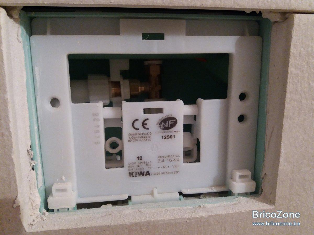 Marque De Toilette Suspendue mon plombier m'a installé un wc kiwa