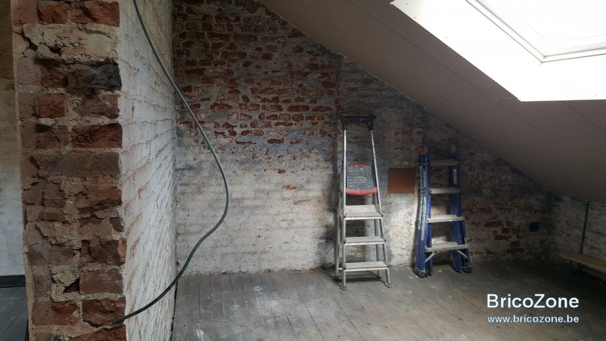 Contre cloison metal stud blochet et pare vapeur for Pare vapeur mur interieur