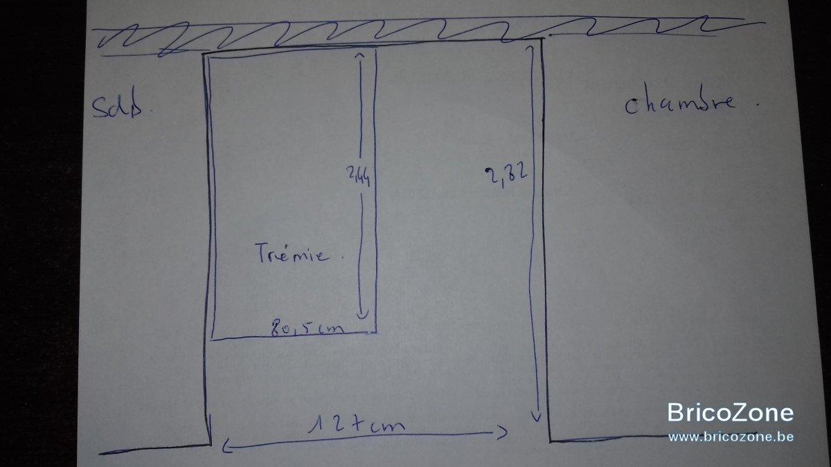 Creation D Une Tremie Escalier configuration d'un escalier sur tremie existante
