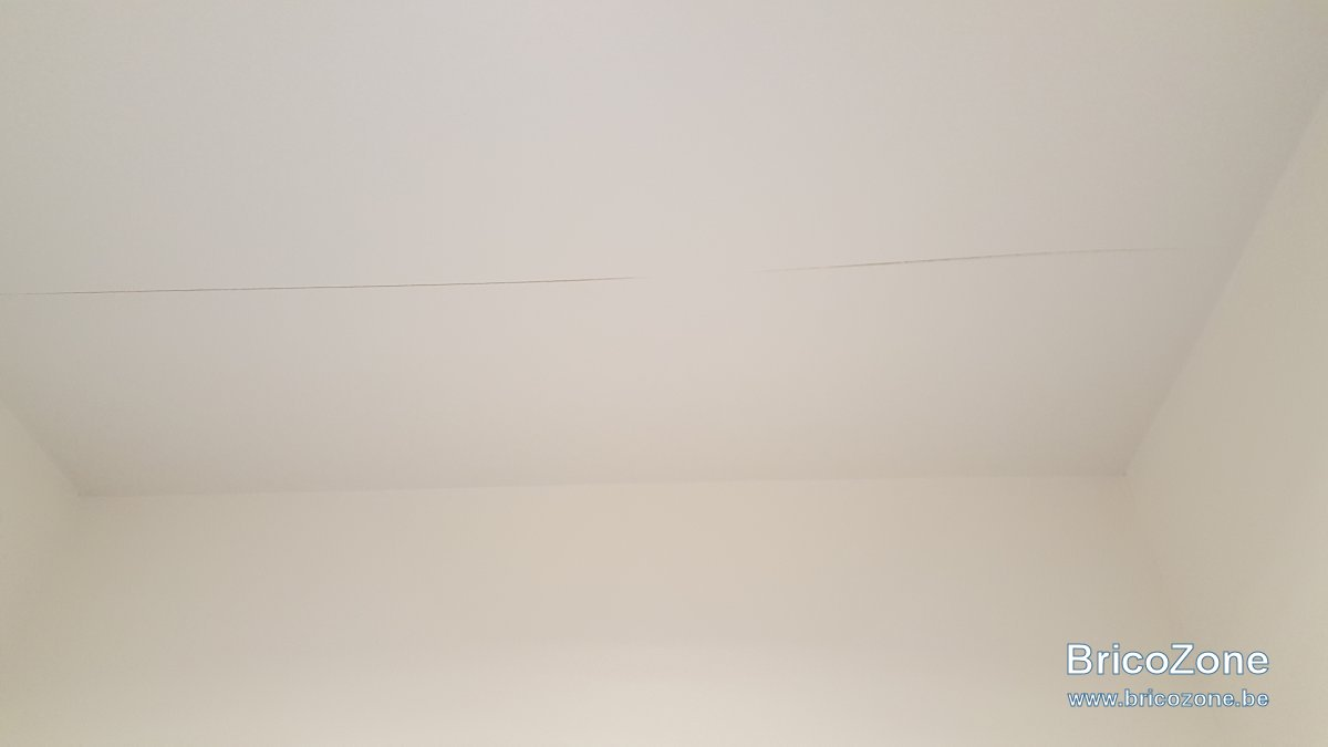 reparer fissure plafond top with reparer fissure plafond. Black Bedroom Furniture Sets. Home Design Ideas