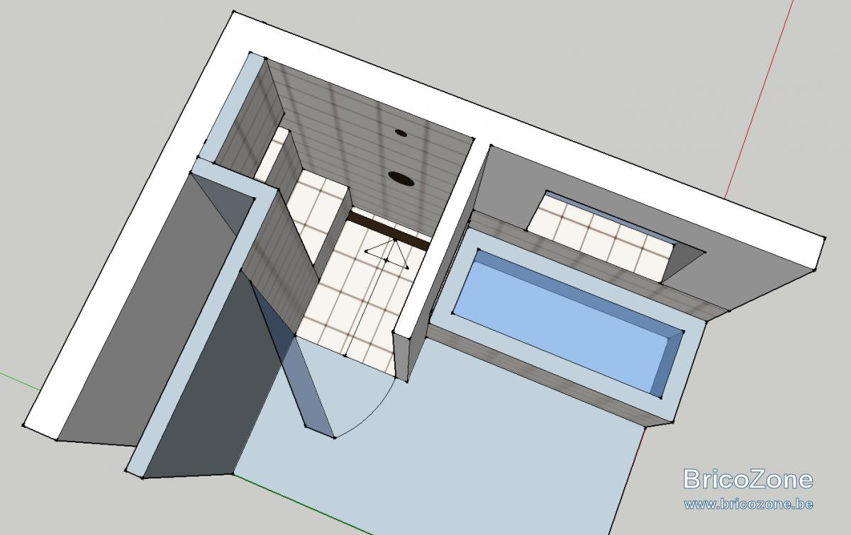 douche l 39 italienne si ge niche et tanch it. Black Bedroom Furniture Sets. Home Design Ideas