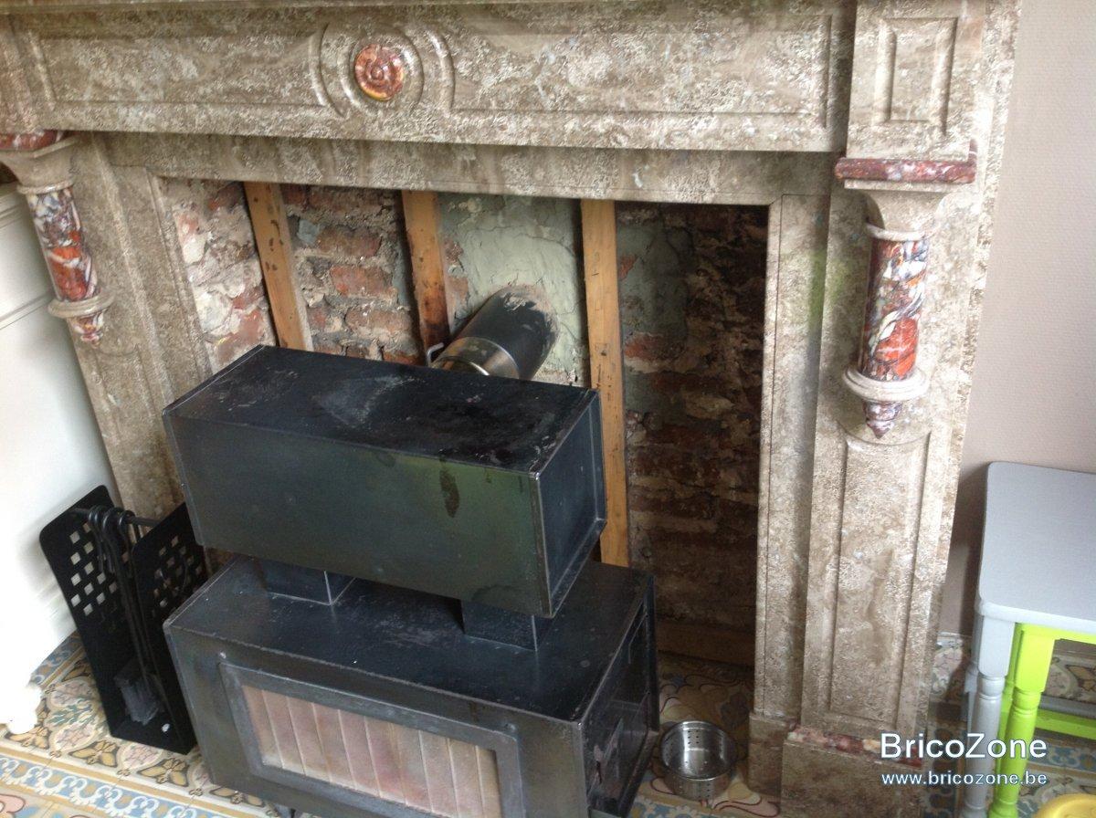 Petit Insert Pour Cheminée Ancienne insert dans vieille cheminee