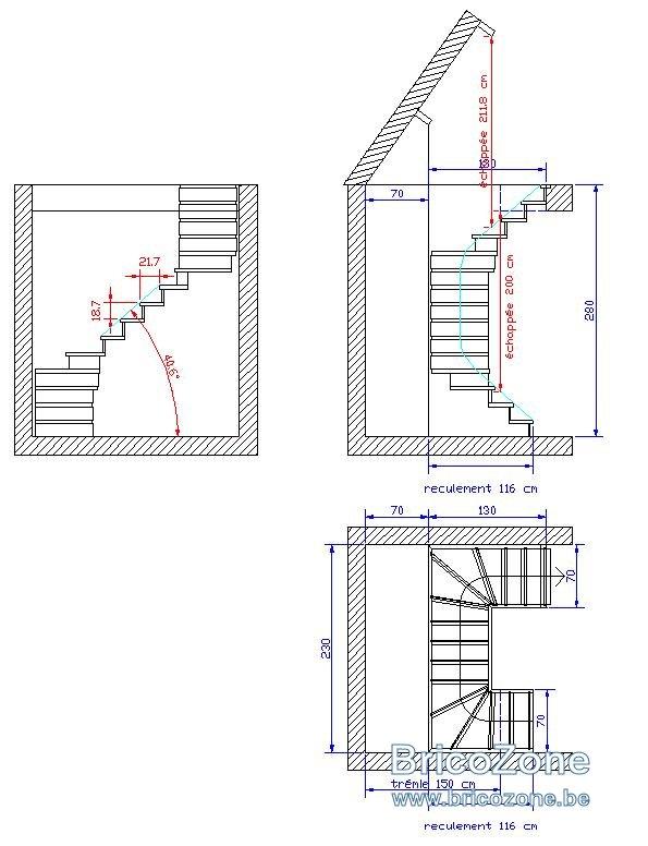 Calcul escalier colimaon escalier helicoidal loretto with for Calcul escalier helicoidal