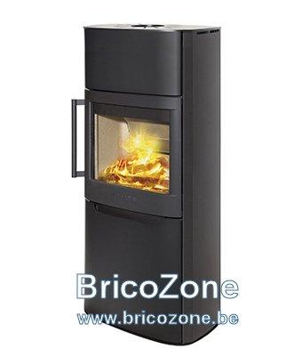 protection la chaleur des murs autour d 39 un po le bois. Black Bedroom Furniture Sets. Home Design Ideas