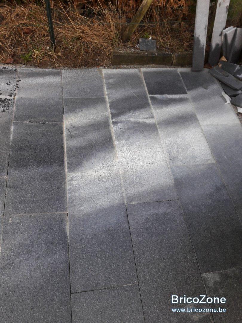 Comment Enlever Colle Carrelage Sur Dalle problème avec dalle en granit