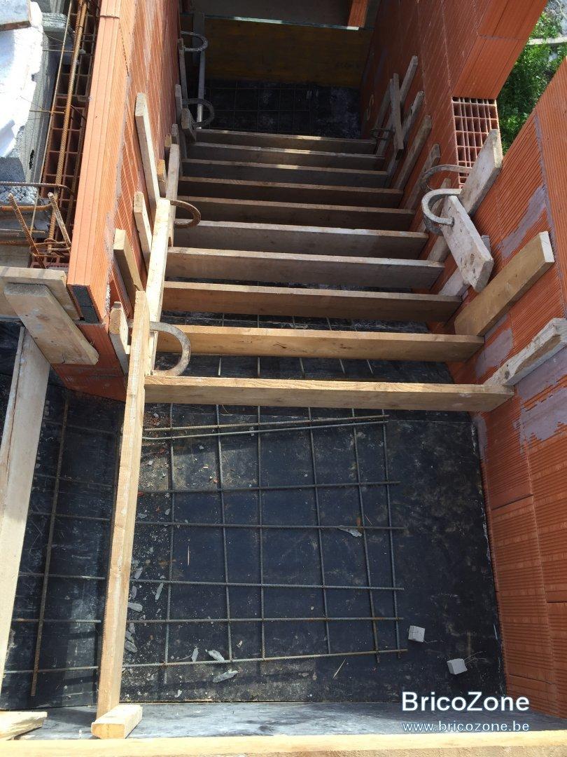 Ferraillage Paillage Pour Escalier B Ton 2 4 Tournant Avec Double