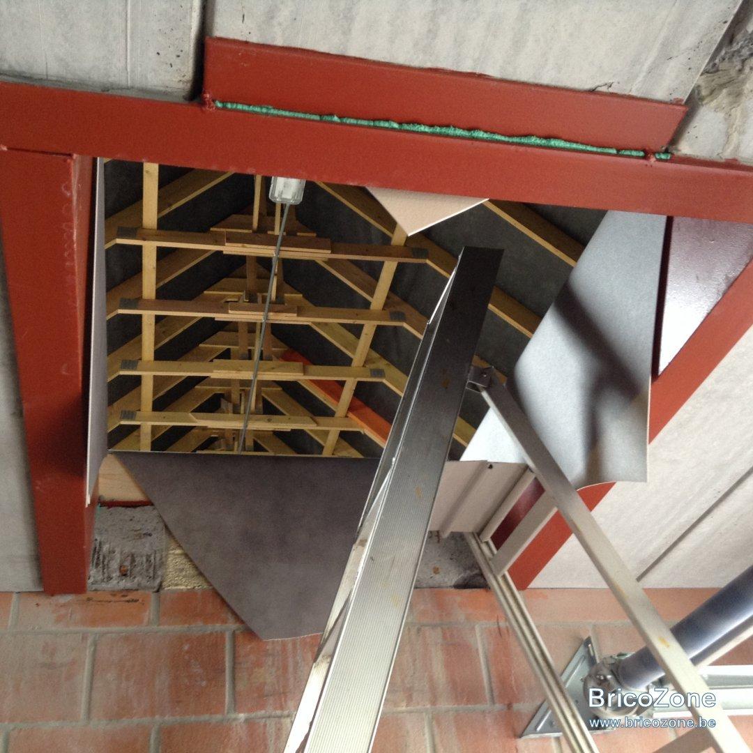 escalier escamotable 80x120. Black Bedroom Furniture Sets. Home Design Ideas