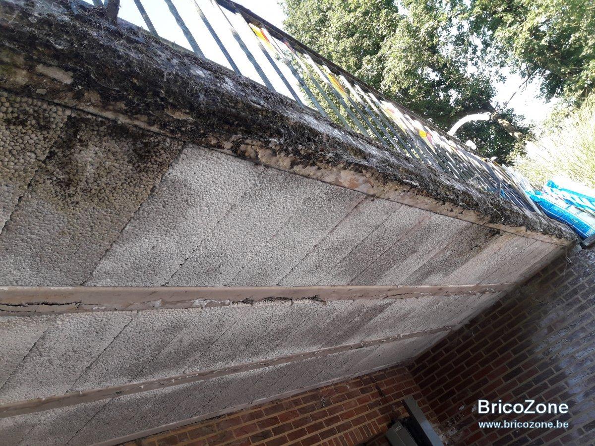 Renovateur Dalles De Terrasse renover + étanchéiffier un balcon en béton.