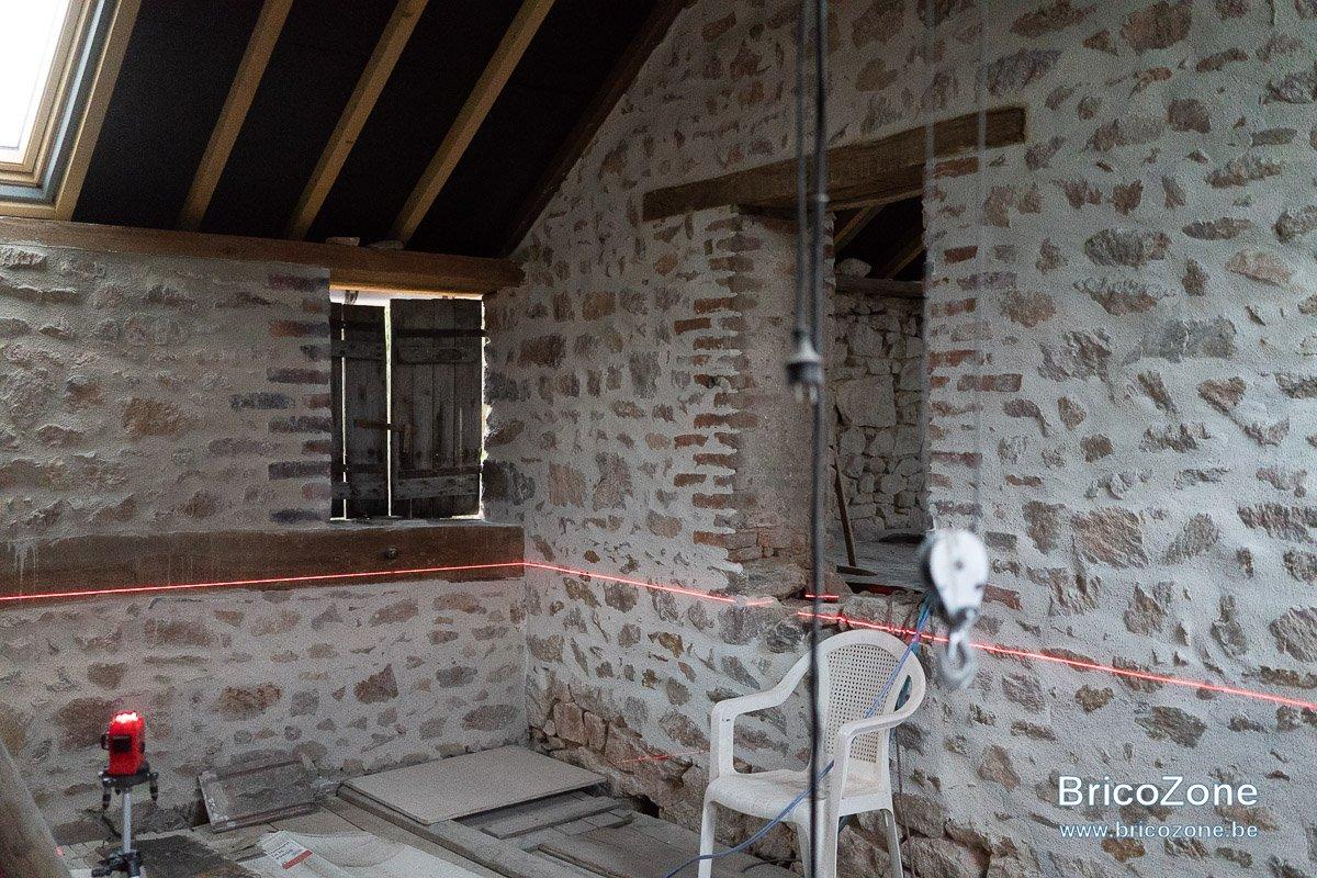Mur Pierre Apparente Intérieur plancher, solivage et mur en pierre ou comment fixer des