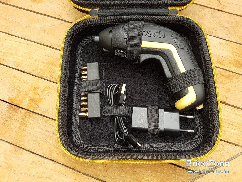 test] visseuse sans fil 3,8 v - bosch ixo 'gold & black' edition