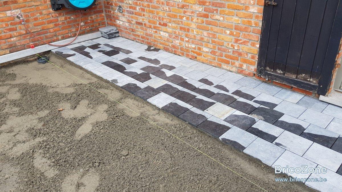Enlever Taches Noires Dalles Terrasse avis taches brunes nouvelles pierres bleues belges