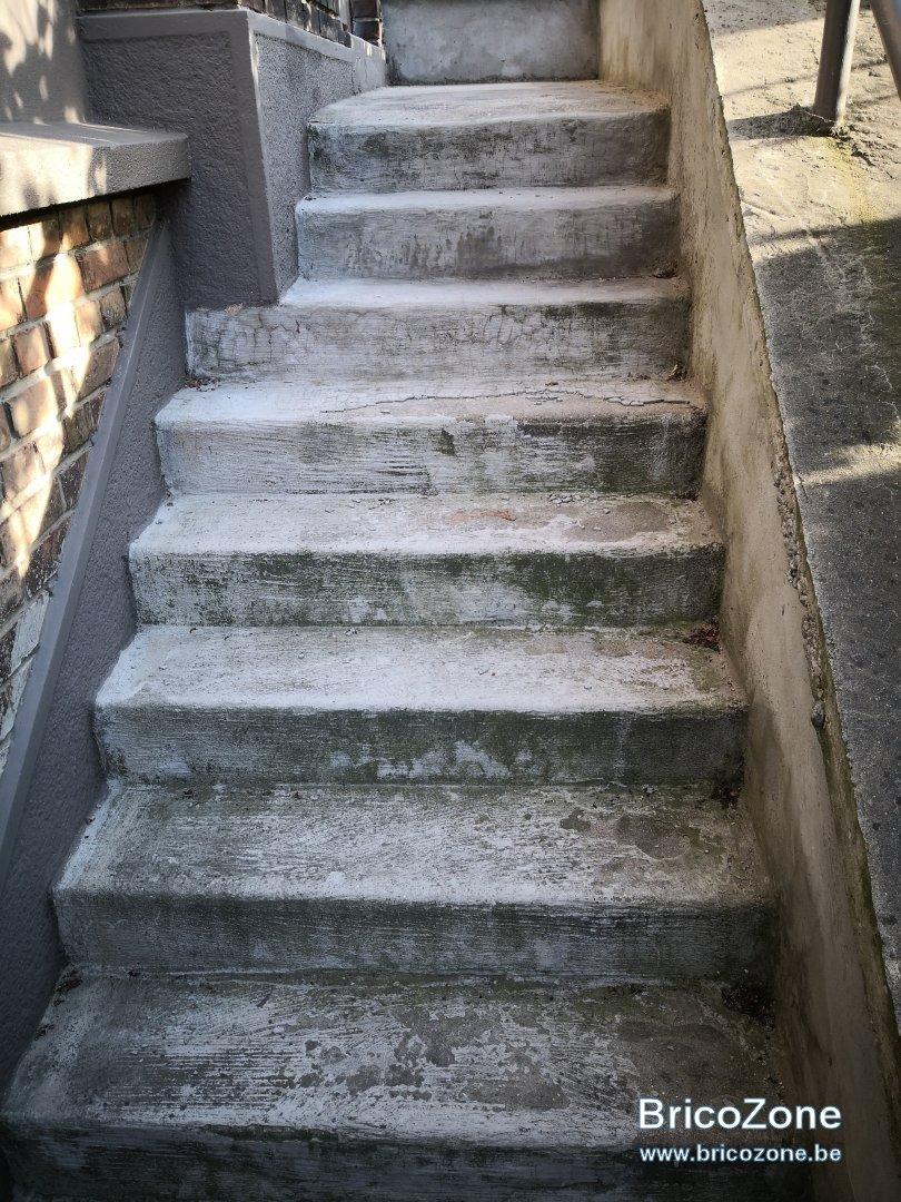 Casser Un Escalier Beton infiltration escalier béton