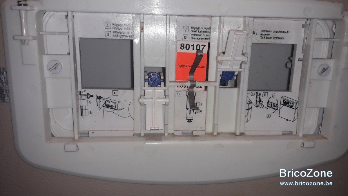 Raccordement Wc Suspendu Geberit recherche plaque commande wc suspendu
