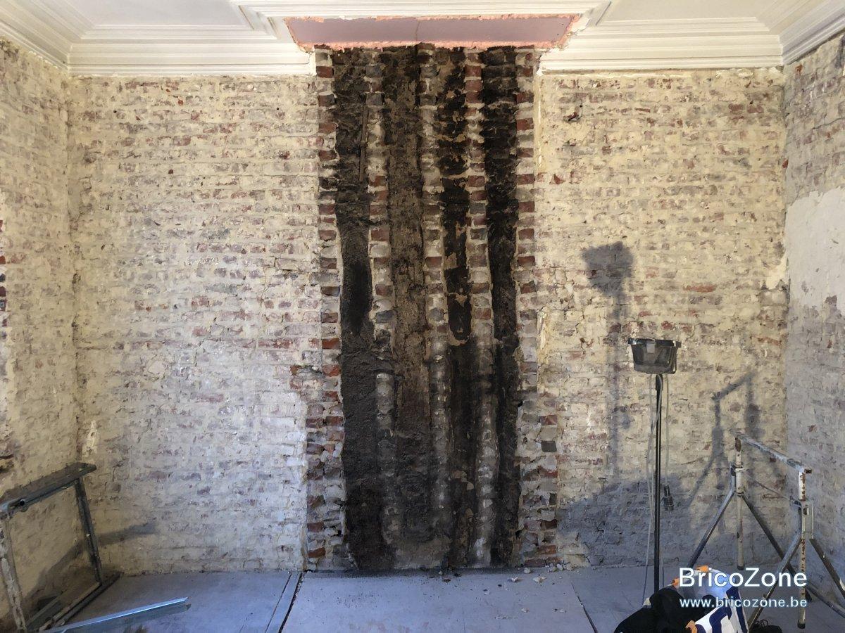 Peindre Un Mur De Brique peindre un mur en briques avec suie