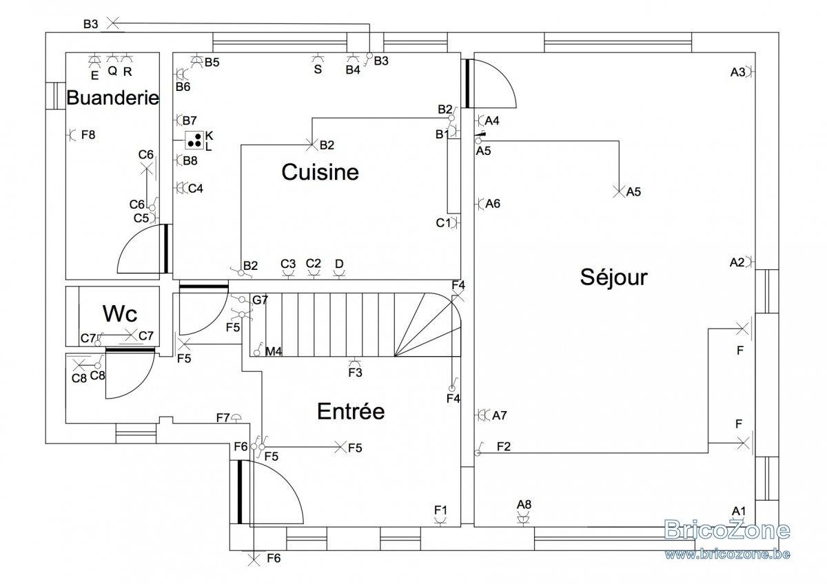 Plan Electrique Maison Vincotte 11