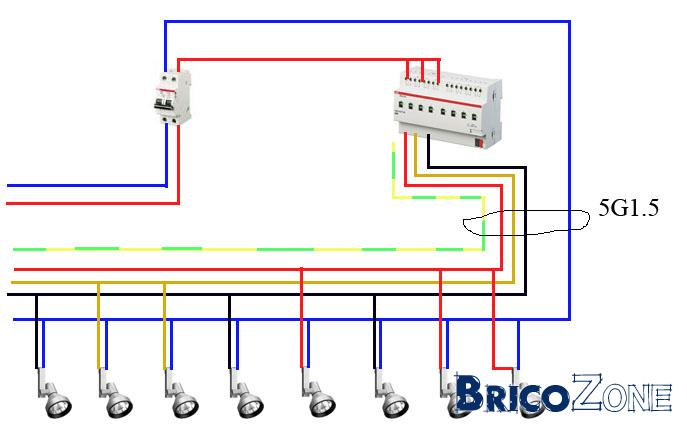 Dali Lighting Control Wiring Diagram Circuit Diagram Maker