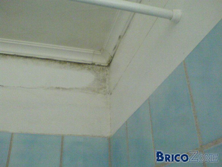 probleme d'humidit� dans salle de bain