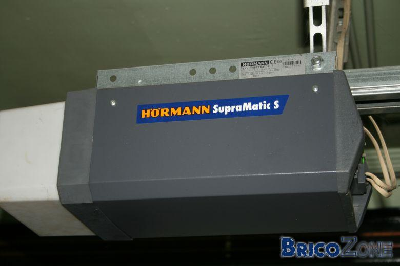 Sangle porte de garage hormann cass e - Reglage moteur porte de garage hormann ...