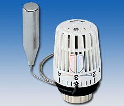sonde et vanne thermostatique