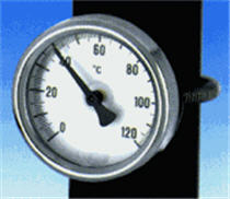 Moyen de mesure température tuyau chauffage