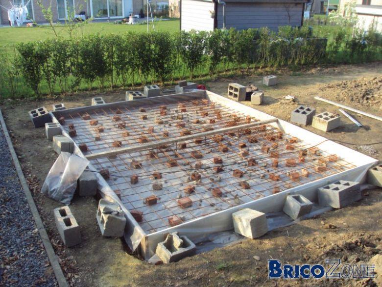 Ma dalle de chalet est r alis e merci pour vos conseils - Faire une dalle beton pour abri de jardin ...