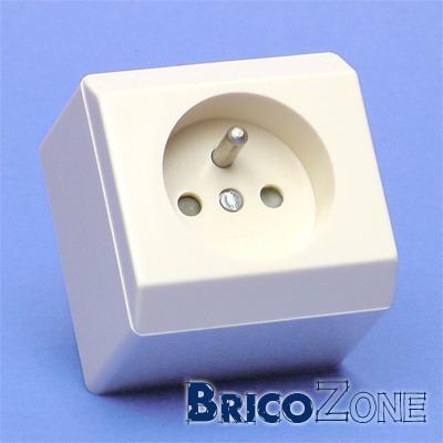 caisson pour cables lectrique sanitaire et prise incorpor e. Black Bedroom Furniture Sets. Home Design Ideas