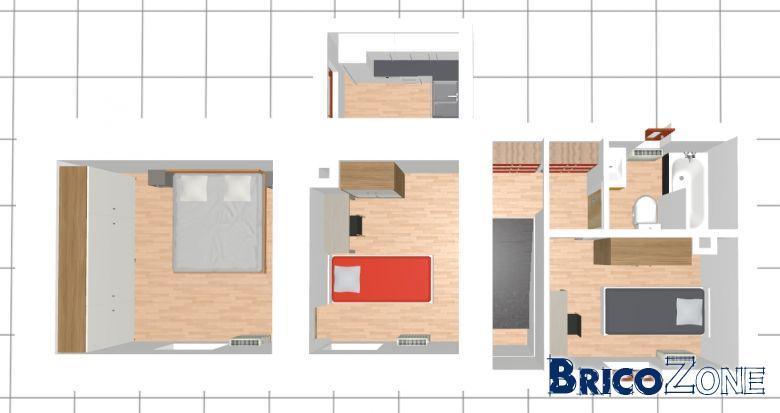 Idee pour aménagement d\'une petite maison