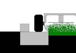 Bordure parterre pelouse for Tarif pour tondre pelouse