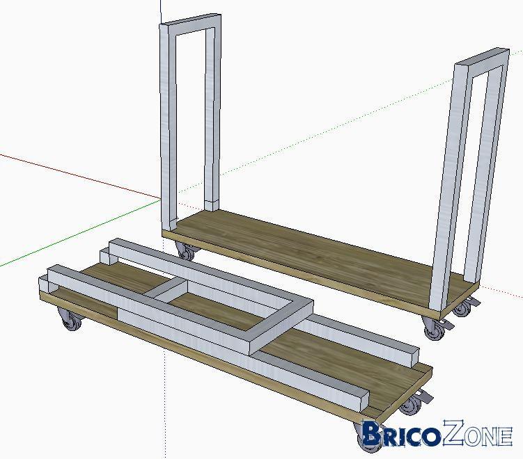 fabriquer un porte buche. Black Bedroom Furniture Sets. Home Design Ideas