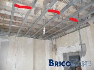 Trucs et astuces pour faire un plafond suspendu aux g�tes