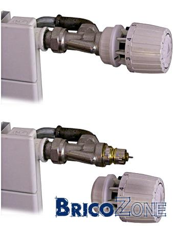 Radiateur qui reste froid - Demonter robinet thermostatique radiateur ...
