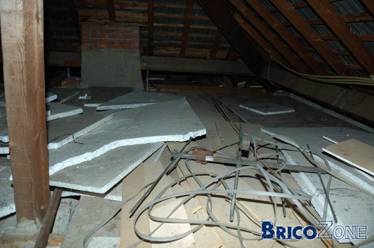 isolation plancher de grenier besoin de bons conseils. Black Bedroom Furniture Sets. Home Design Ideas