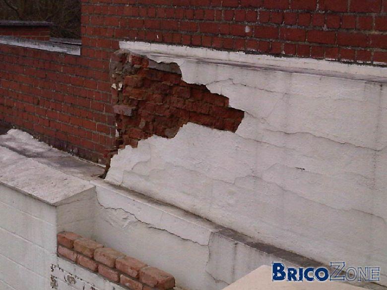Mur exterieur - Refaire un mur exterieur ...