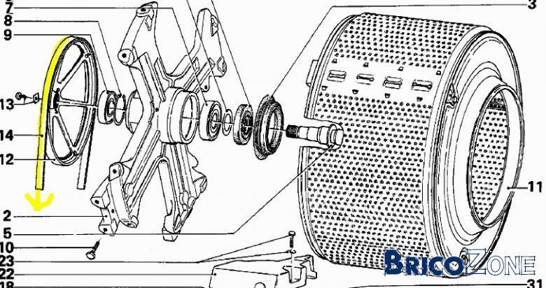 Machine laver miele 698 - Nettoyage tambour machine a laver ...