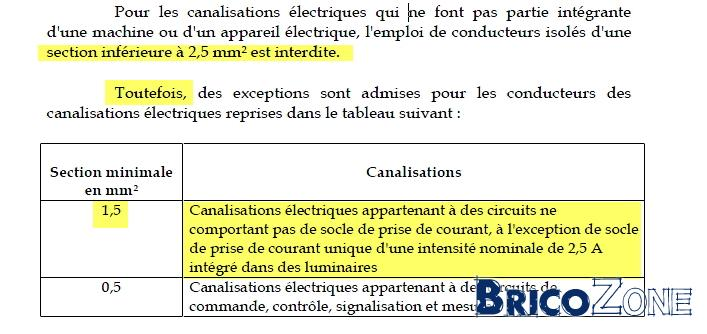 D�rogation circuit mixte en 1,5?