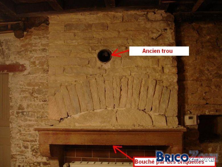 Installation po u00ebleà bois dans ancienne cheminée # Poele A Bois Dans Cheminée