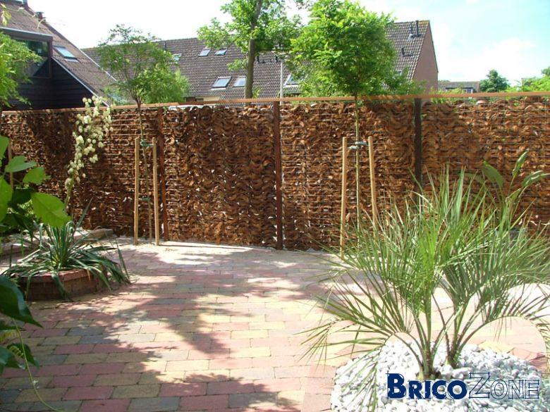Pose de brise vue for Cloture de jardin reglementation