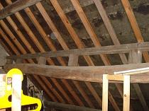 Isolation d'un vieux toit