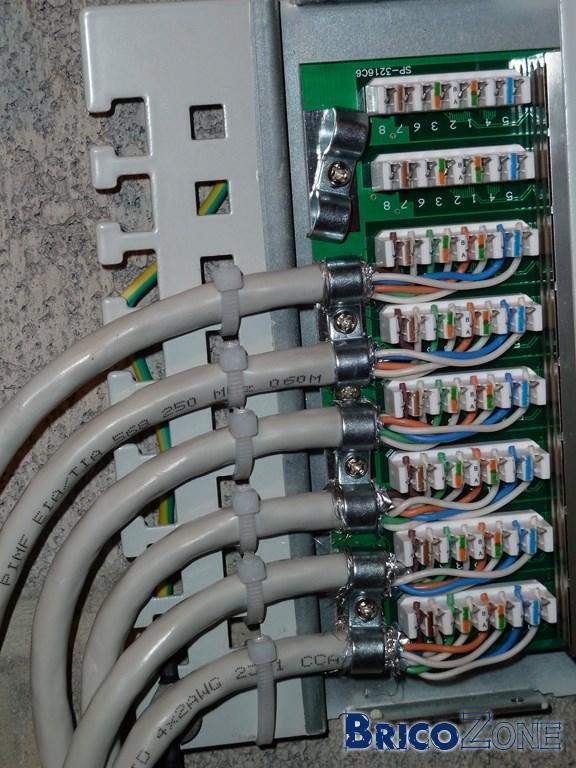Mon patch panel UTP Cat6