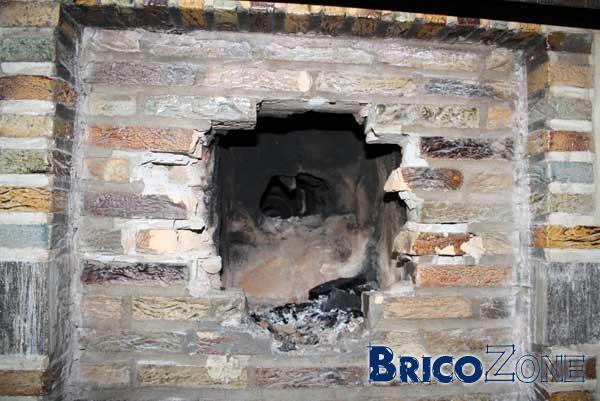 Réutiliser une cheminée
