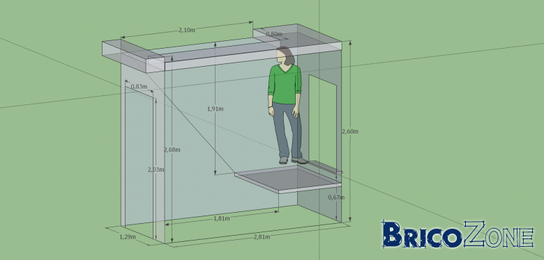 calcul escalier dans une petite pi ce. Black Bedroom Furniture Sets. Home Design Ideas