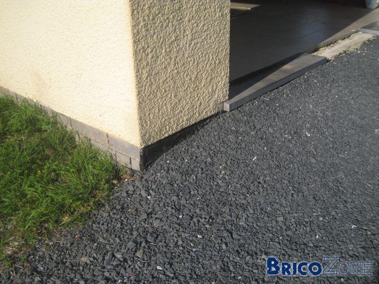 Seuil garage et infiltration dans les caves - Seuil de porte de garage en beton ...