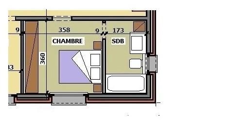 surface minimum d une chambre coucher design de maison. Black Bedroom Furniture Sets. Home Design Ideas