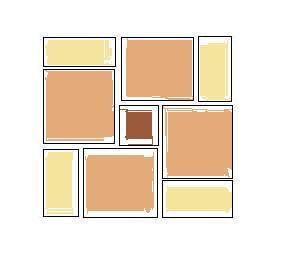 Plan de pose carrelage for Carrelage 4 formats