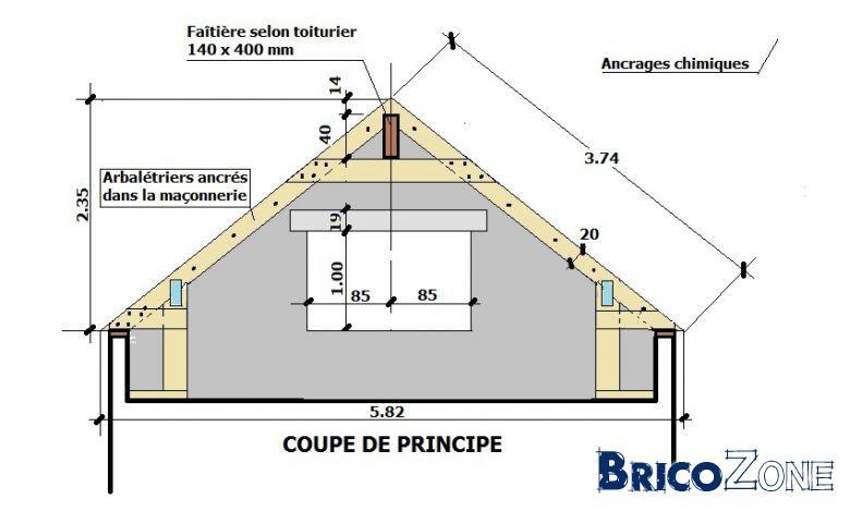 calcul de sections des pannes de toiture page 5 With creer un plan de maison 3 quelle type de charpente