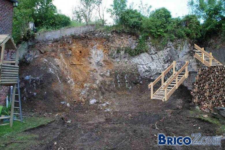 Escalier Ext Rieur Pour Jardin En Hauteur 5 M